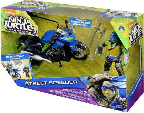 boys ninja turtles vehicle street speeder