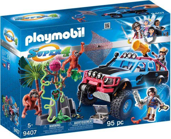 playmobil jeep jungle