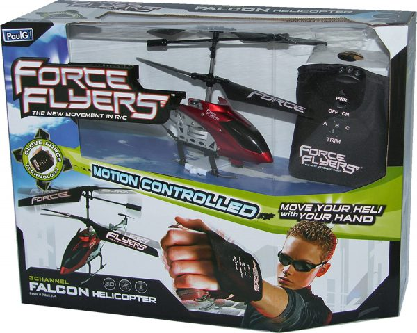 RC helicopter  falcon rood