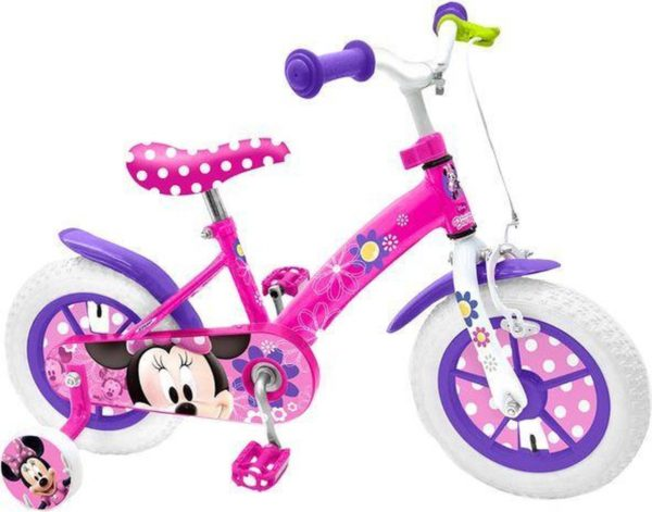 Minnie Mouse Fiets 12""