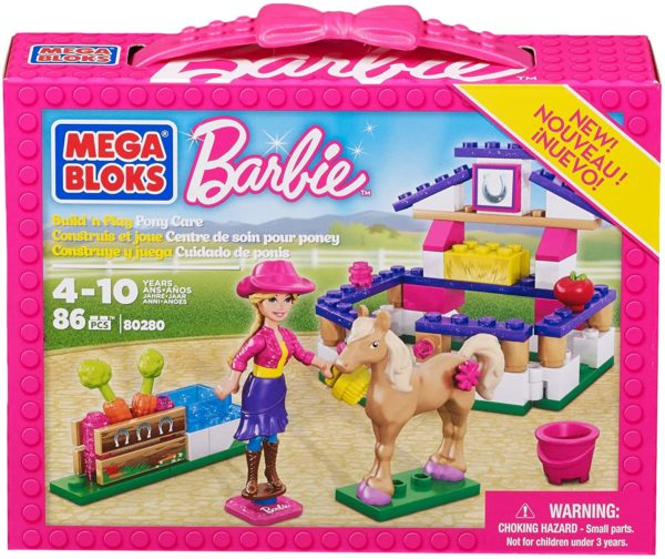 Barbie, Build 'n Play Pony care