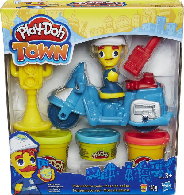 play-doh pizza delivery blauw