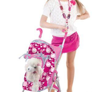 pop luxury pets buggy+pluche