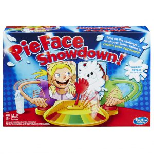 SPEL PIE FACE SHOWDOWN