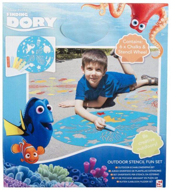 creatief dory outdoor stencil fun set