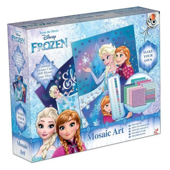 frozen mosaic art