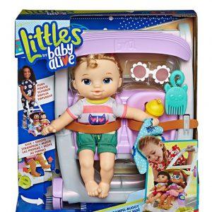 POP BABY ALIVE LITTLES ROLL N KICK STROLLER ASST