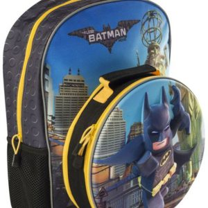 boys batman luch bag lego