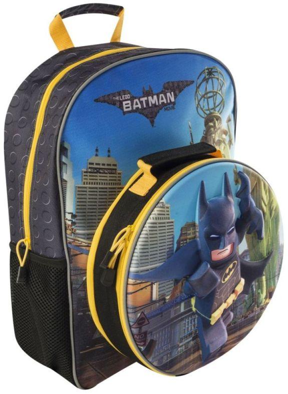boys batman luch bag lego