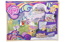 My Little Pony 3 Wood Puzzles