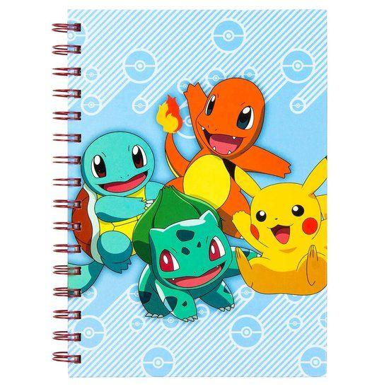 creatief pokemon spiraal notebook